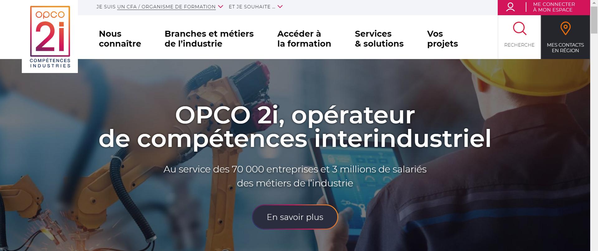 OPCO2i nouveau site