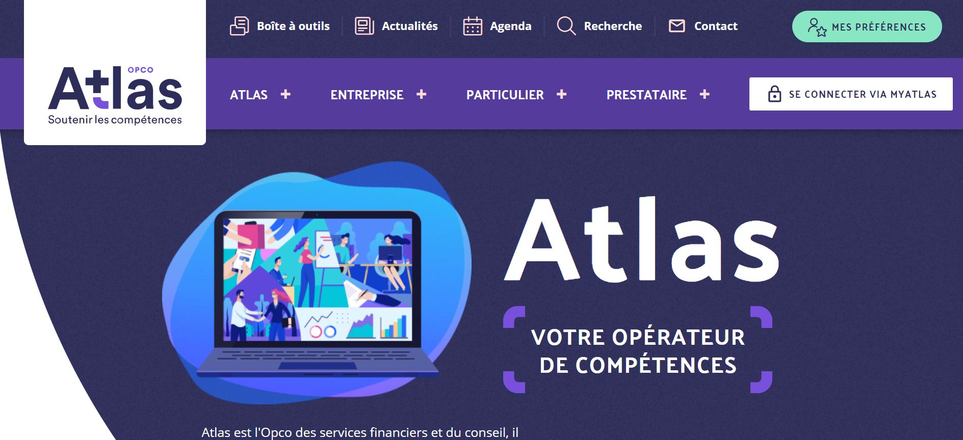 OPCO ATLAS Site web