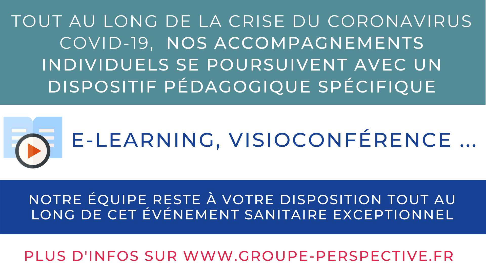 Coronavirus GROUPE PERSPECTIVE Conseil Coaching Formation