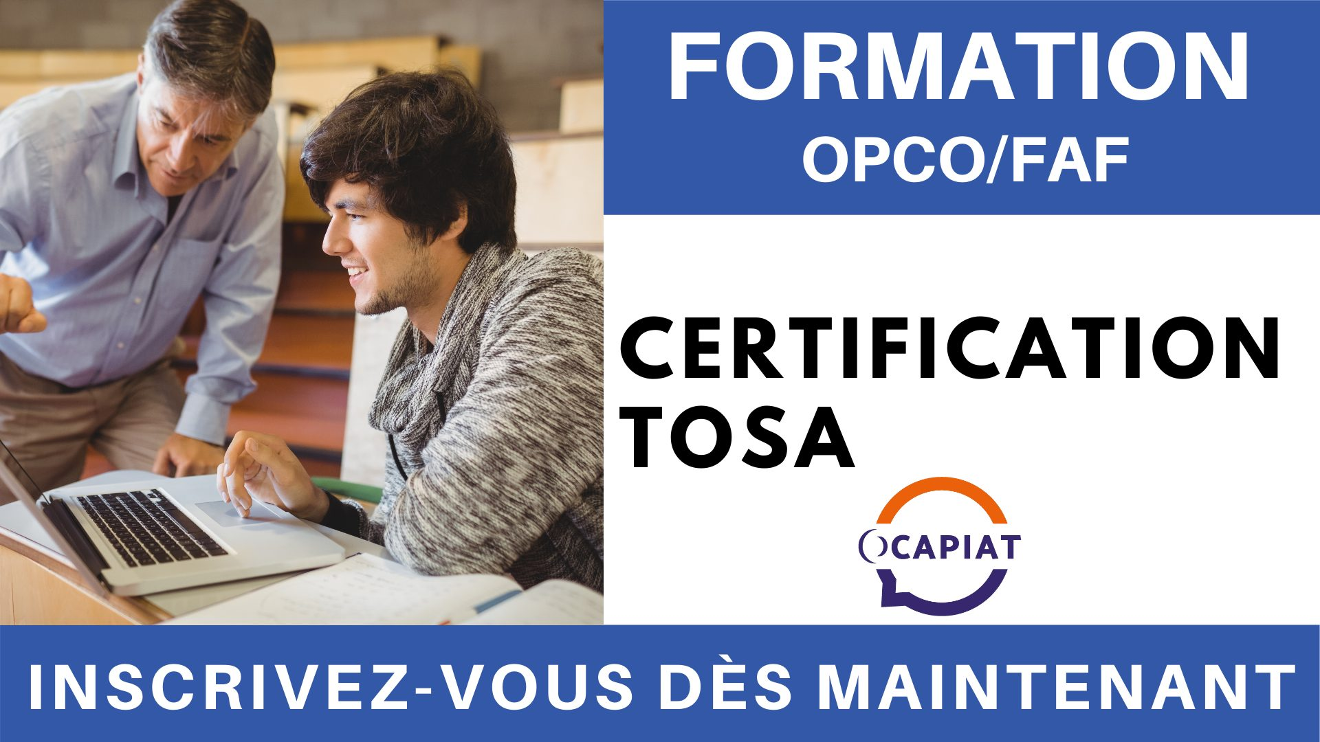 Formation OPCO FAF - Certification TOSA