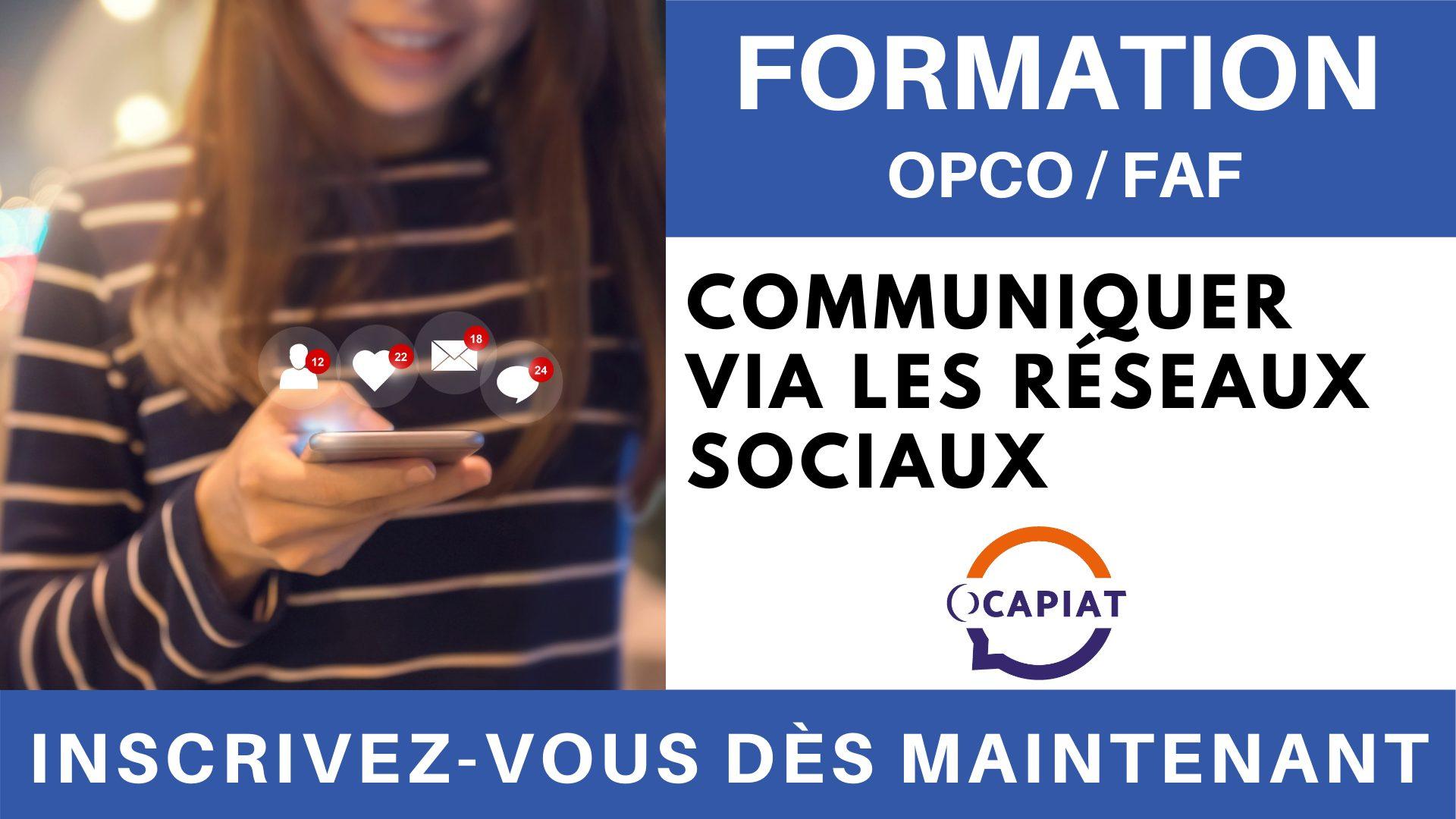 Formation OPCO FAF - Communiquer via les réseaux sociaux