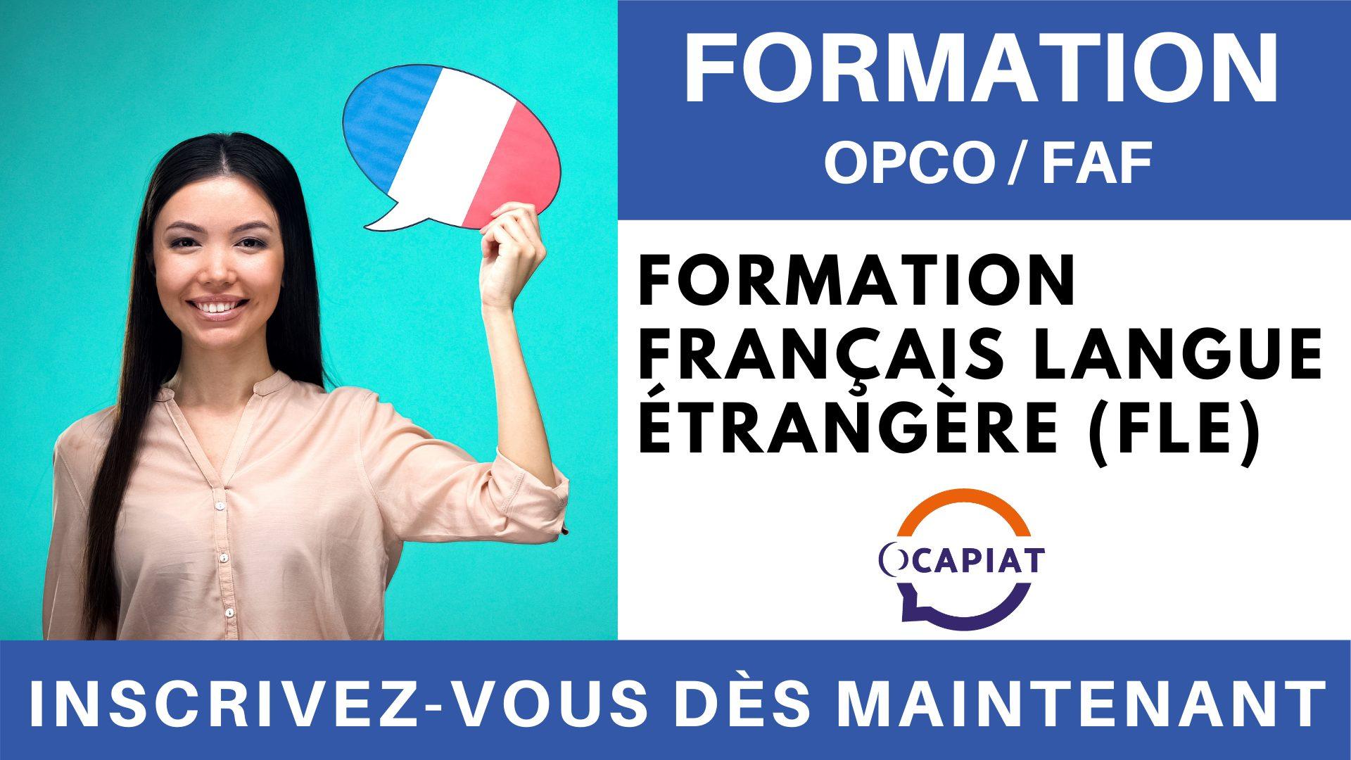 Formation OPCO FAF - Formation Français Langue Étrangère (FLE)