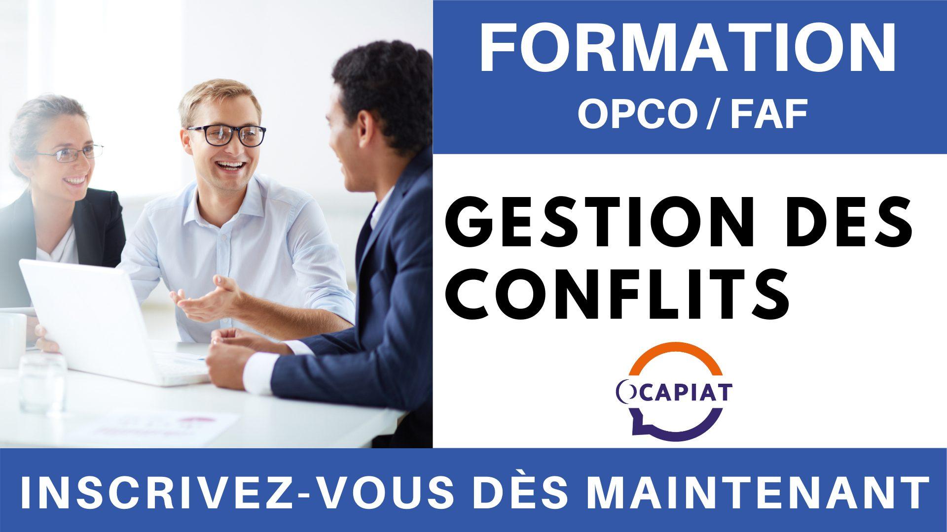 Formation OPCO FAF - Gestion des conflits