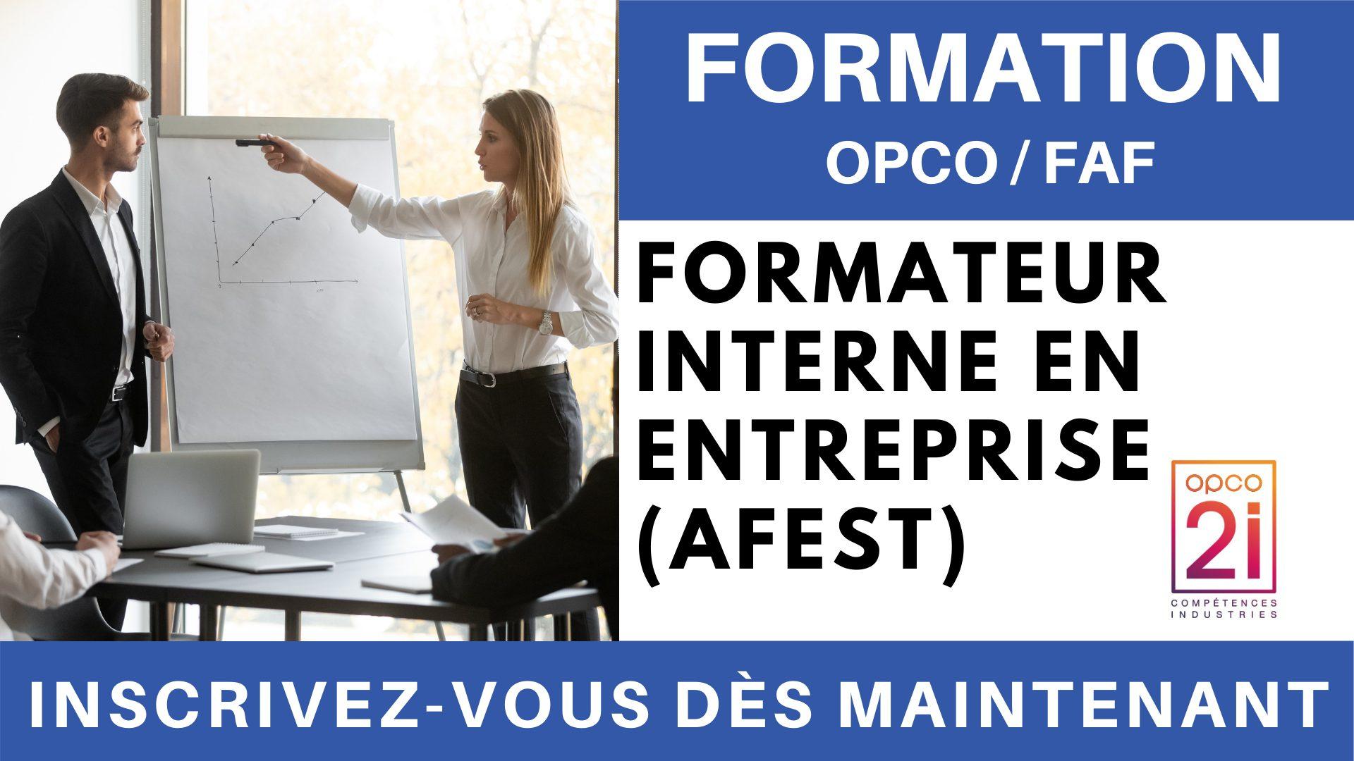 Formation OPCO FAF - Formateur interne en entreprise (AFEST)