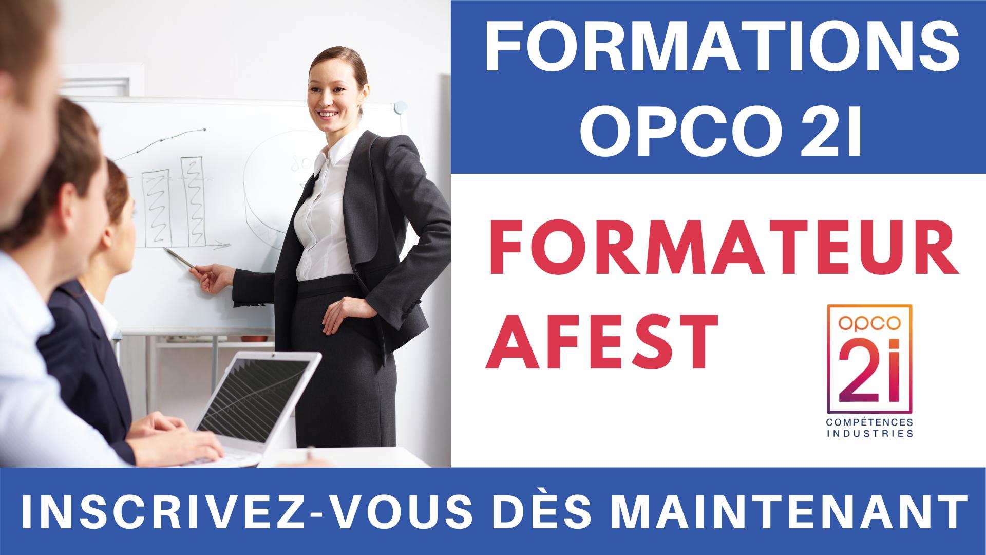 Pub Formations OPCO 2i - Formateur AFEST