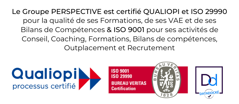New Bannière - Certifications PERSPECTIVE 2021