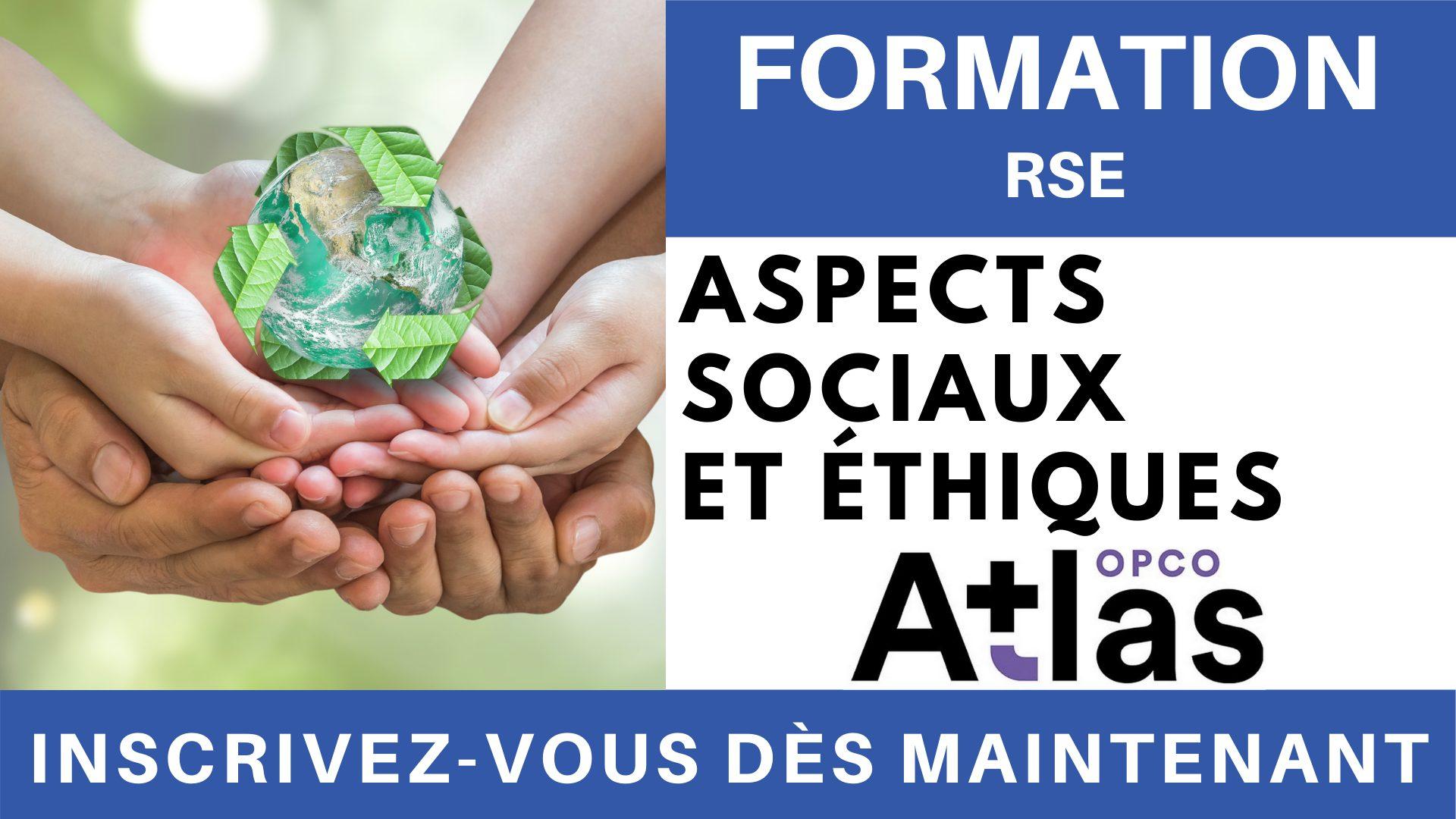 Formation RSE - Aspects sociaux et éthiques
