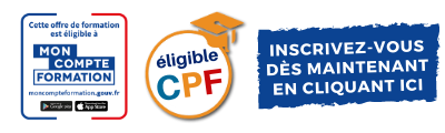 Offre éligible CPF Mon Compte Formation
