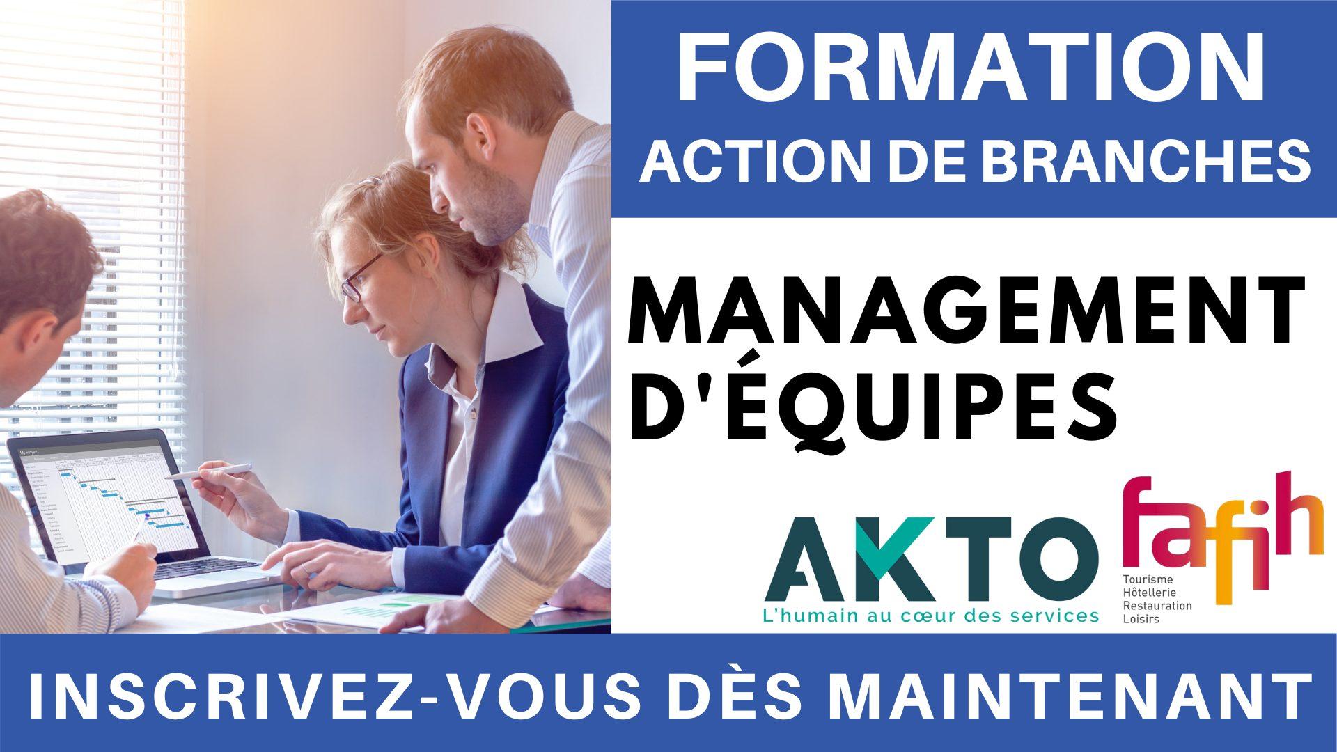 Formation Action de branches - Management d'équipes