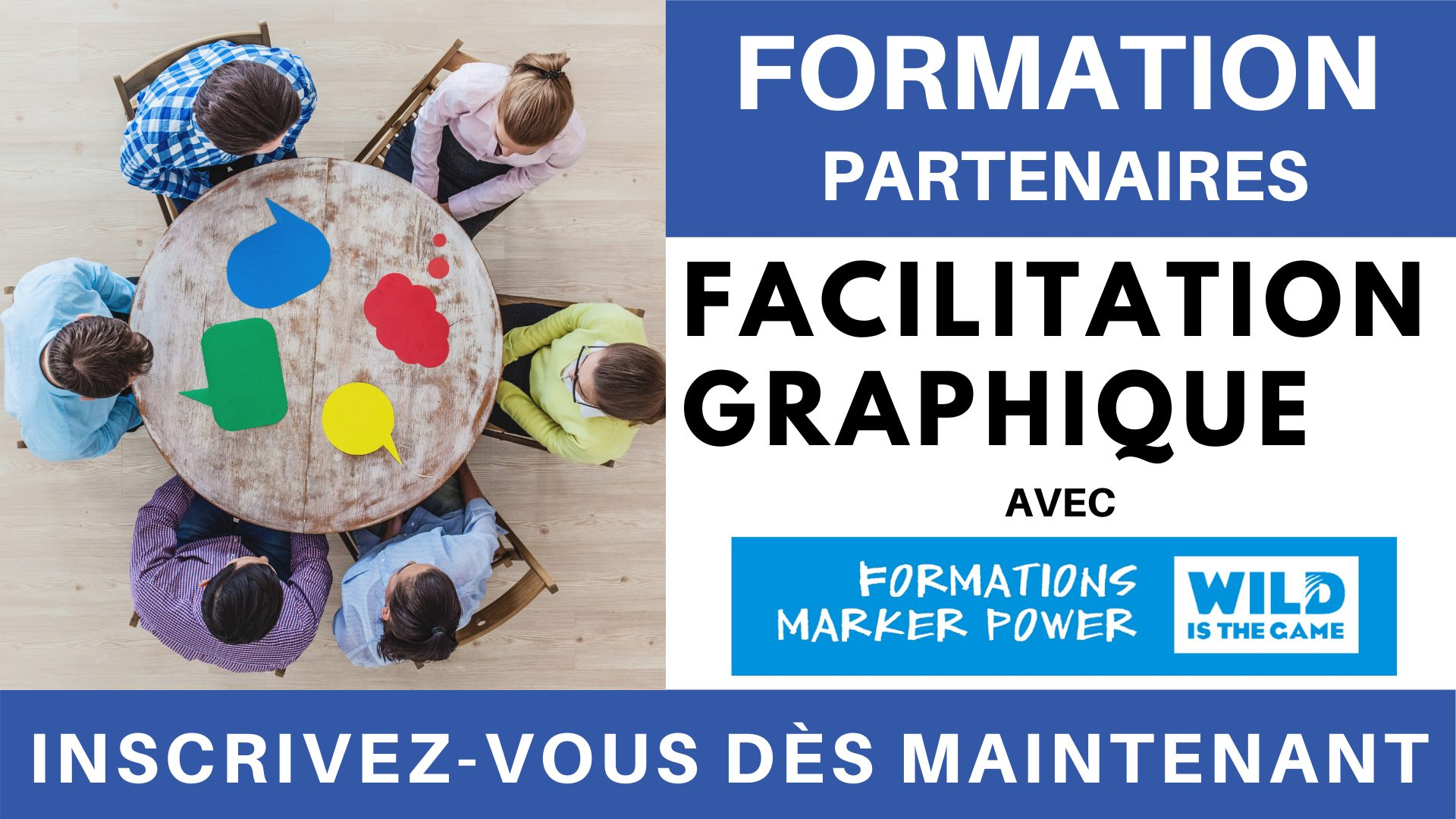 Formation PARTENAIRES - Facilitation Graphique