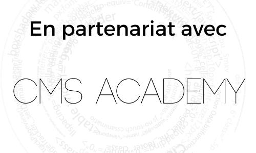 Formations partenariat CMS Academy