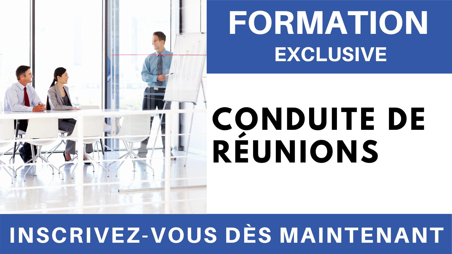 Formation Exclusive - Conduite de réunions